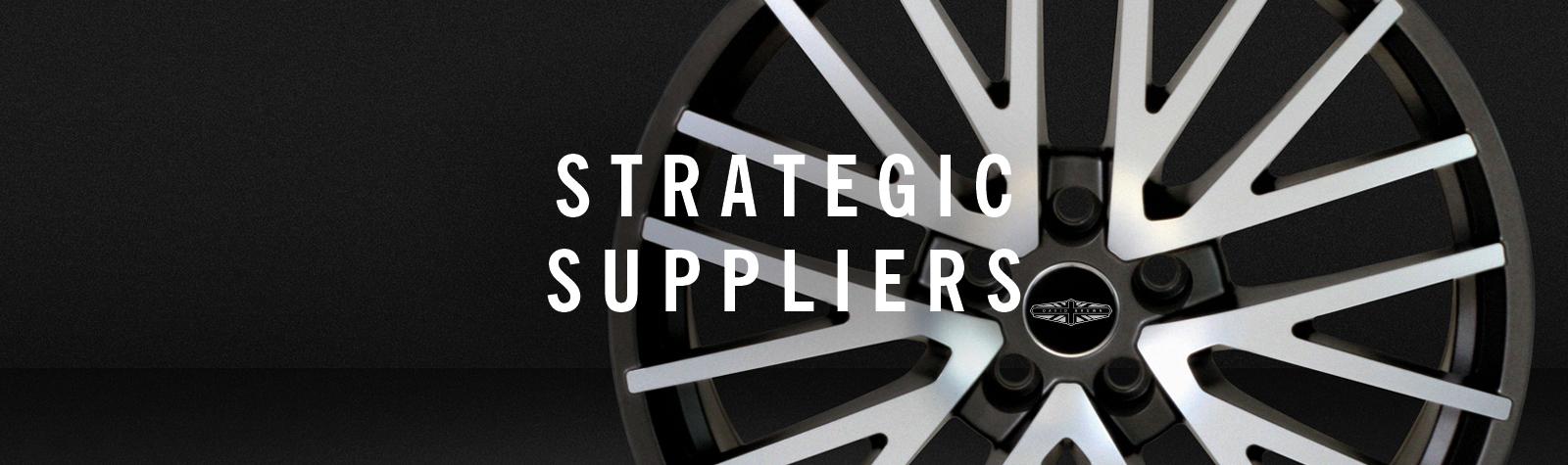 Strategic Suppliers