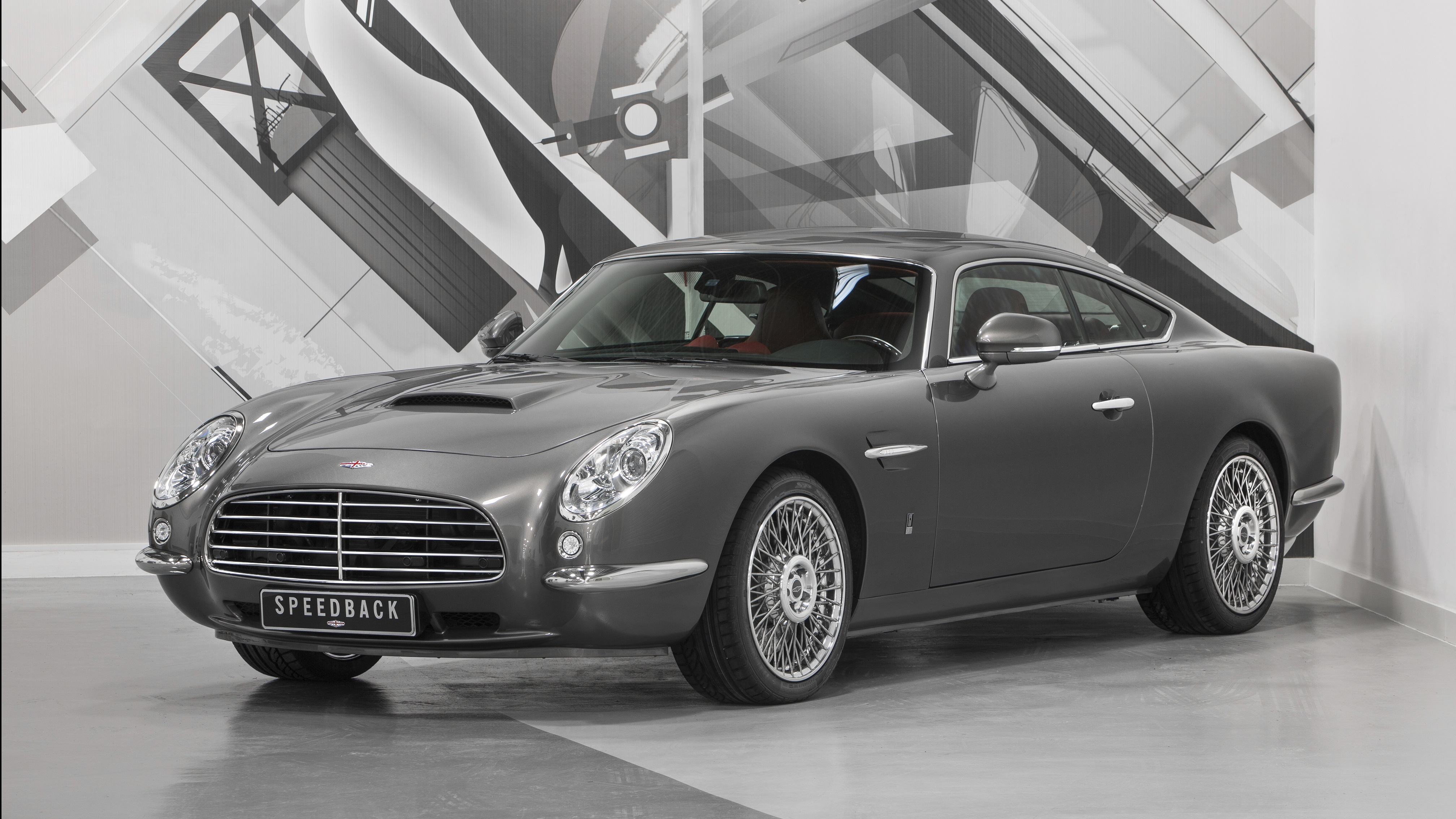 THE FIRST PRODUCTION SPEEDBACK GT HAS BEEN DELIVERED TO ...